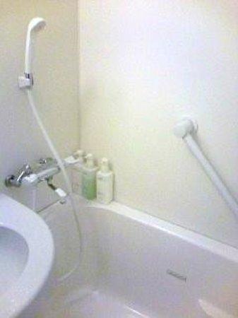 Hotel Hokke Club Nigata Nagaoka : 清潔なバスルーム