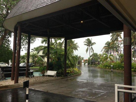 Tanoa Tusitala Hotel: Boy can it rain!