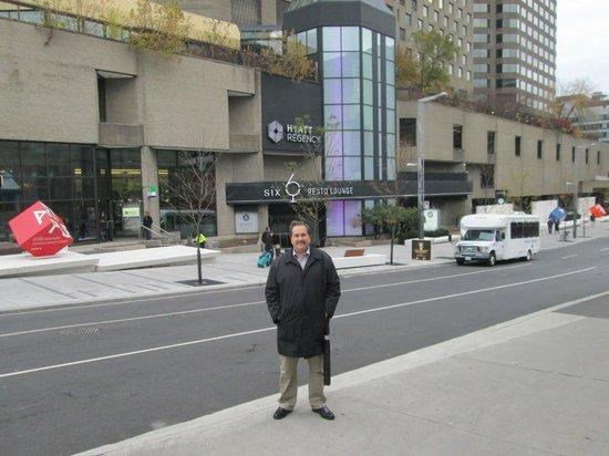 Hyatt Regency Montréal : entrée principale