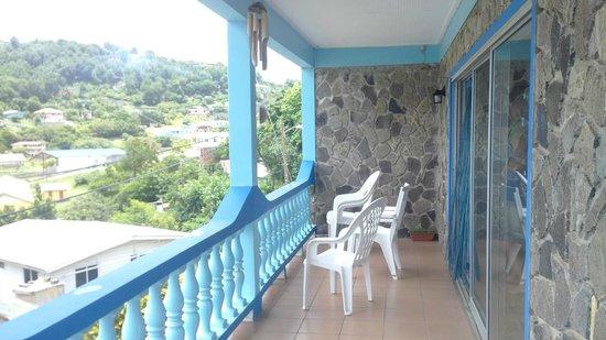 Ramblers Rest Guest House: Terrace
