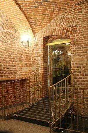 Aparthotel Stare Miasto: hall to restaurajca