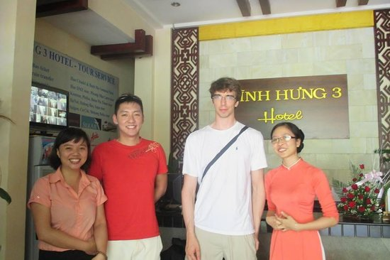 Vinh Hung Library Hotel: we and receptions