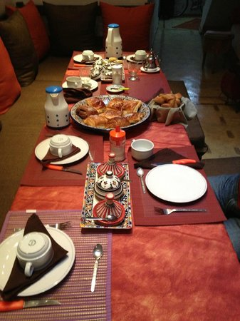 Dar Latigeo: Frühstück