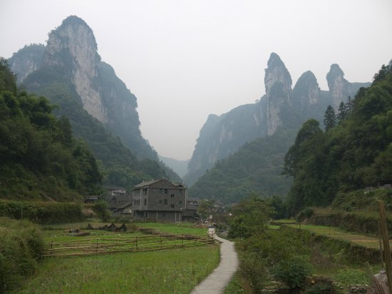 Jishou, Cina: Ynguan Creek Grand Canyon
