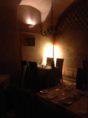 Hotel Pod Roza: Restaurant