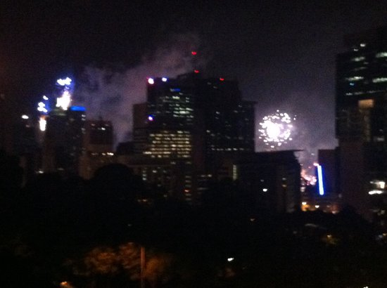 Hotel Urban Brisbane : Fireworks New Years Eve