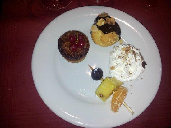 Le Murano: Le dessert