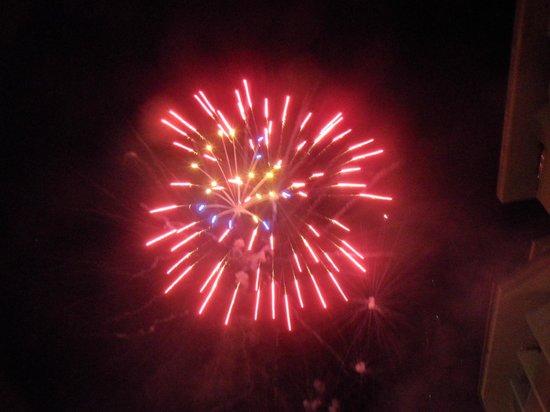 Side Star Park Hotel: vuurwerk 1 januari