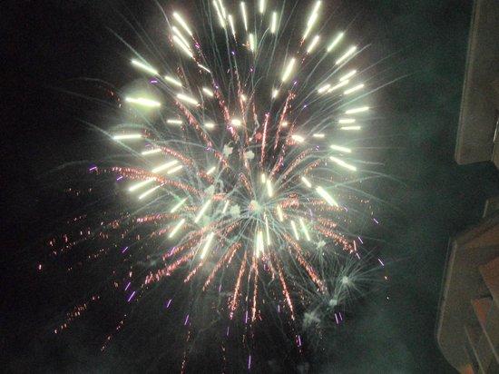 Side Star Park Hotel: geweldig vuurwerk 1 januari