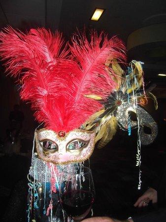 Manchester Marriott Victoria & Albert Hotel: NYE - Masquerade Ball