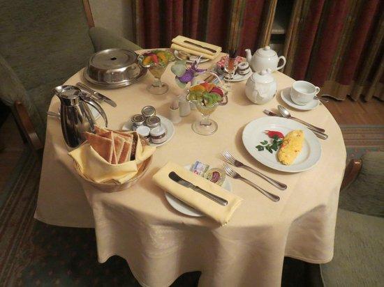 Hotel Metropol Moscow : Breakfast