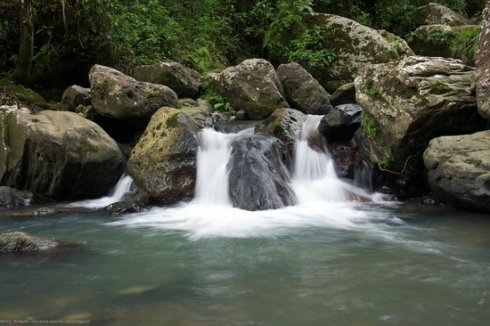 El Yunque National Forest, Puerto Rico: chute