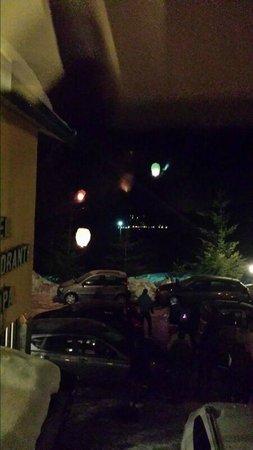 Hotel Europa: lancio delle lanterne