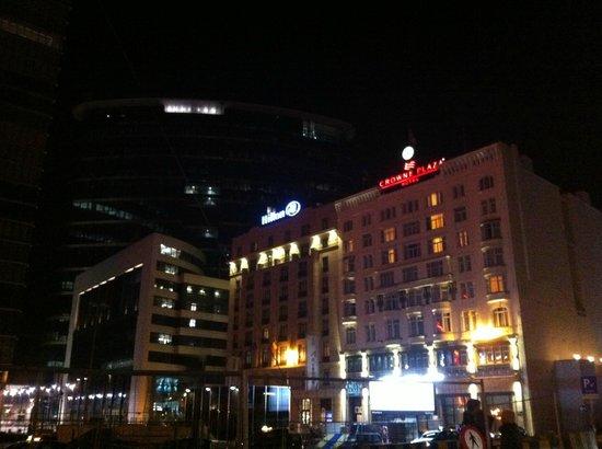 Hilton Brussels City : esterno