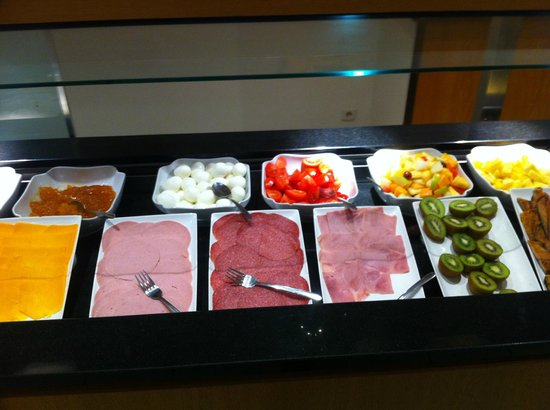 Hilton Brussels City: colazione salata