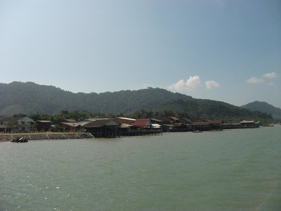 Lanta Old Town: Nice view of the shops on stilts