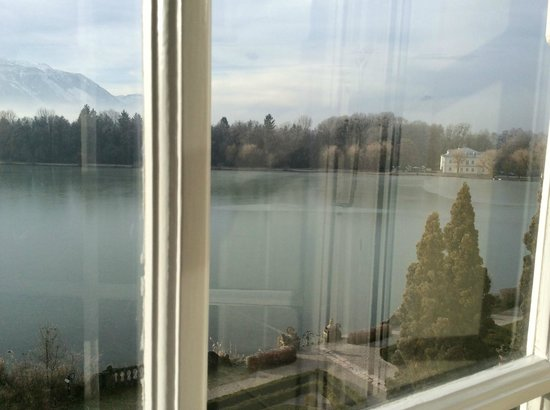 Hotel Schloss Leopoldskron: View from the Max Reinhardt Suite