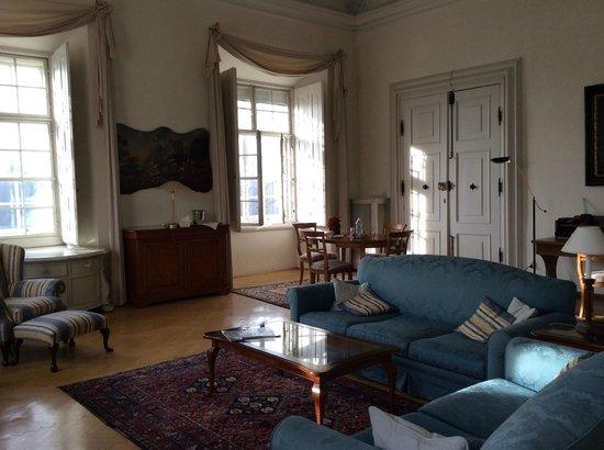 Hotel Schloss Leopoldskron: Max Reinhardt Suite Living Room