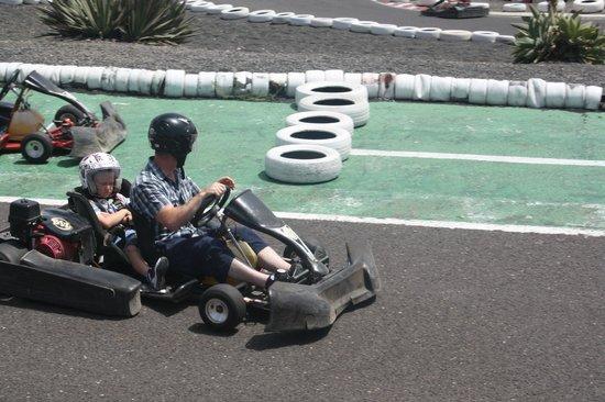 Go Karting San Bartolomé: Tandem for younger kids