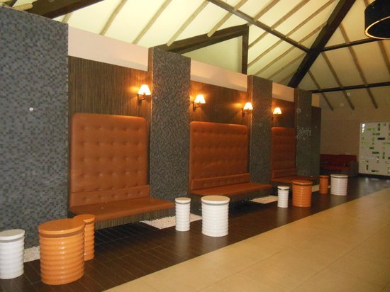 Epe Resort : The reception area