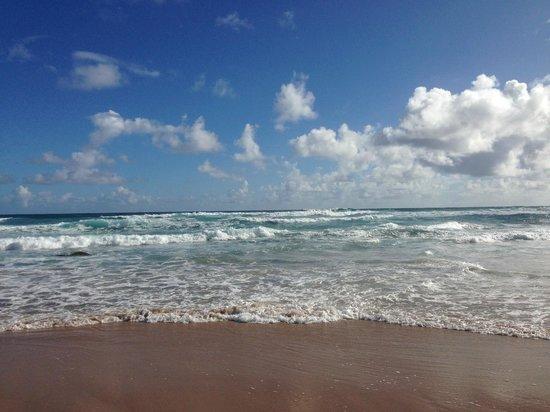 Bathsheba Beach: The beach