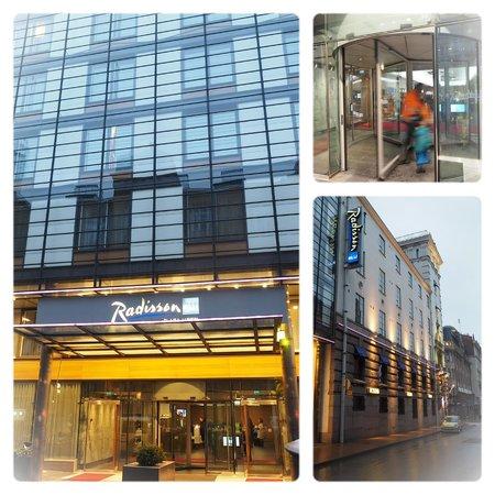 Radisson Blu Plaza Hotel, Helsinki: External