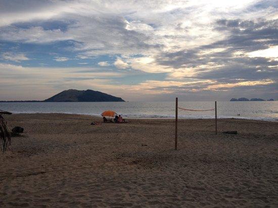 Playa Blanca: A beautiful view!