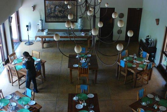 Elephant Plains Game Lodge: Teilweise wird serviert, teilweise gibt es Buffet.