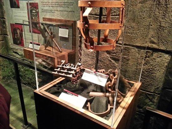 National Museum of Crime & Punishment: medieval punishment