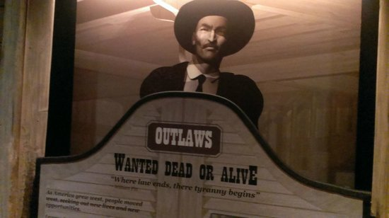 National Museum of Crime & Punishment: Outlaws