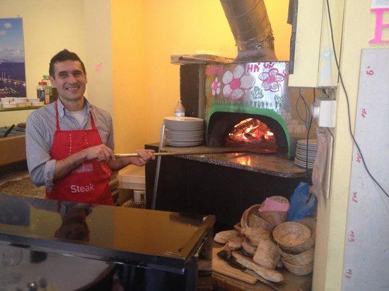 O Sole Mio: pizza maestro roberto from toscana