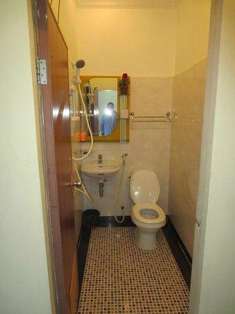 New Castle Guest House: Toilette
