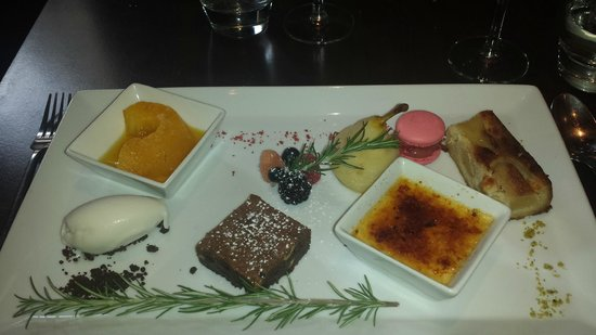 Bistrot À Côté : dessert trés gourmant