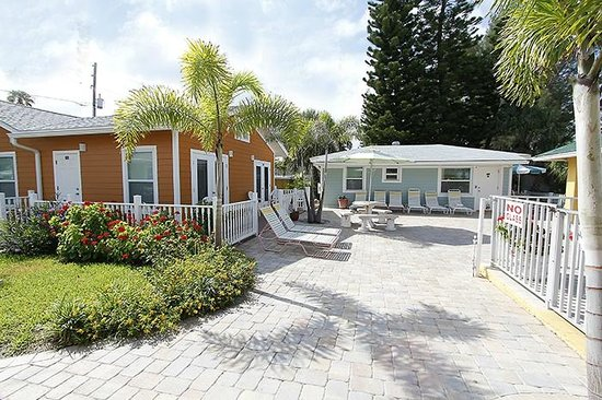 Suncoast Motel : Suncoast Villa grounds