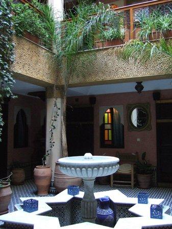 Jnane Mogador: The courtyard
