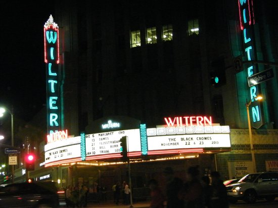 Wiltern Theatre: exterior