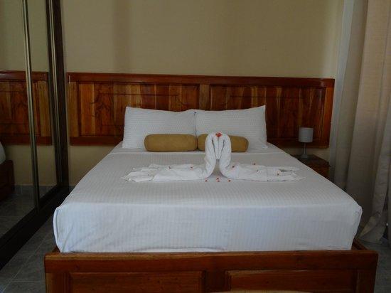 Jamelah Beach Guest House: chambre à l'arrivée