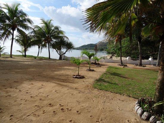 Jamelah Beach Guest House: jardin