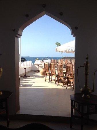 The Seyyida Hotel & Spa : rooftop restaurant