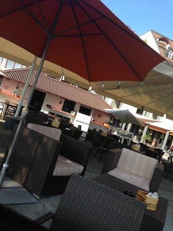 Post Hotel Weggis: Bar / Restaurant am See