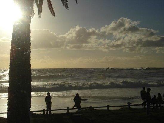 Clifton Beaches: Clifton Beach ao entardecer