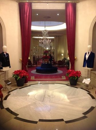 Wellington Hotel : хол при лобби