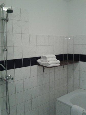 Art Hotel Rotterdam: badkamer