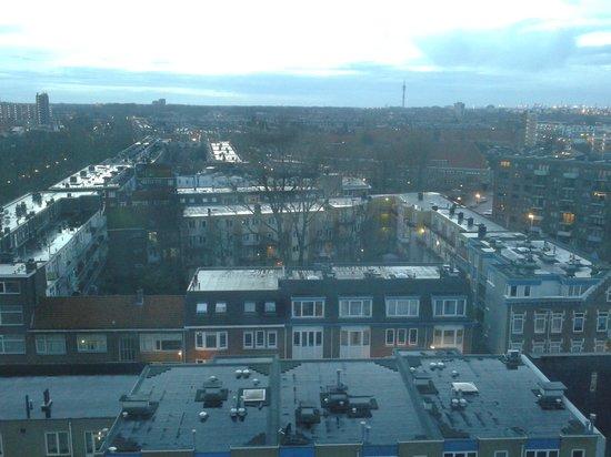 Art Hotel Rotterdam : uitzicht