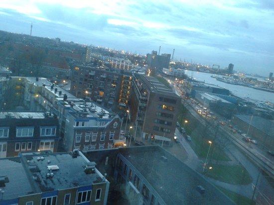 Art Hotel Rotterdam: uitzicht