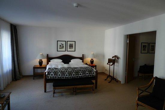 The Mandala Suites: sleeping area