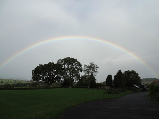 Cedar House: Amazing rainbows