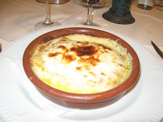 La Bodeguita: lasagne aux légumes
