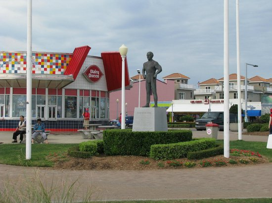 Virginia Beach Boardwalk Dairy Queen On The