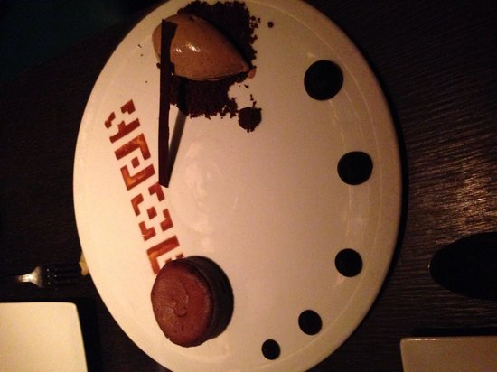 Buddakan : Crying choccolate